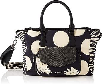 Desigual Womens Fabric Hand Bag, Black, U