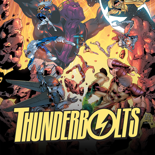 Thunderbolts (2006-2012) (Collections) (13 Book Series)