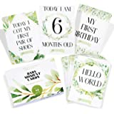 42 x Baby Photo Moment Cards with Gift Box by Monday Moon®   Baby Shower Unisex Boy Girl Photo Keepsake Memory Landmark…