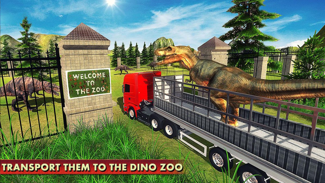 Angry Dinosaur Transport Tycoon Deluxe 3D: Wild Animal