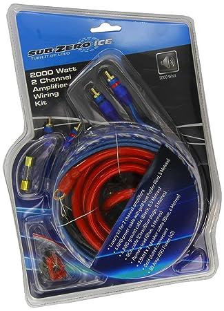 Sub zero ice gl204 wiring kit 2000w 2 channel amp deluxe red sub zero ice gl204 wiring kit 2000w 2 channel amp deluxe red amazon uk car motorbike keyboard keysfo Choice Image