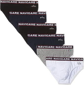 Navigare 324, Slip Uomo (Pacco da 6)