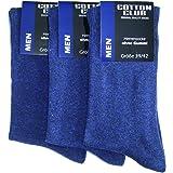 6 paia di salute calze Cotton Club calzini senza gomma fino a Gr 51 – 54 persone diabetiche adatto, No elastico
