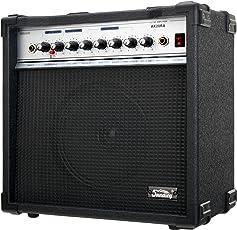 "Soundking AK20-RA Gitarrencombo schwarz (60 Watt, 8"" Speaker, 2 Kanäle, 4-Band Equalizer, Digital Reverb)"