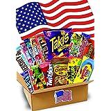 1,5 KG- JUMBO USA Süßigkeiten Box - USA Sweets - verschiedene Leckereien - Takis Chips- Perfekte Geschenkidee - Box voller TO