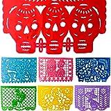 TexMex Fun Stuff Pancartas de Fiesta Mexicana Amor de Muertos Día de los Muertos (18 FT) Grande Arco iris