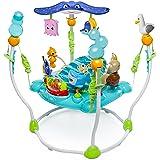 Bright Starts, Disney Baby Aire d'Eveil à Rebonds Le Monde de Nemo avec plus de 13 jouets et activités, musique et lumières,