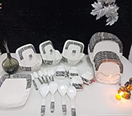 Century premium table ware Melamine Set of 40 Pcs Serving Dinner Set