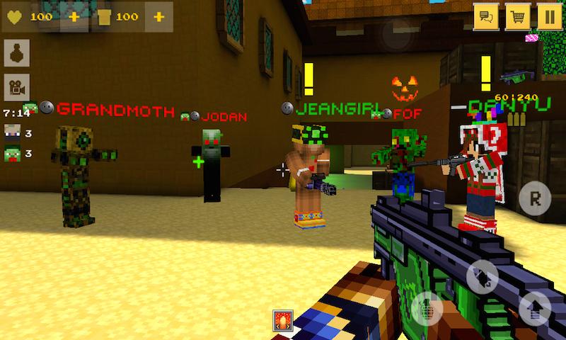 Block Force Pixel Style Gun Shooter Game Amp Survival