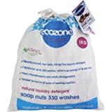 Ecozone Soap nuts - Indian Wash nuts – replaces laundry powder and detergents – great value 1kg bag – up to 330 washes