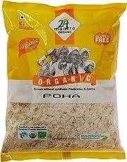 24 Mantra Organic Poha (Flattened Rice/Atukulu), 500g
