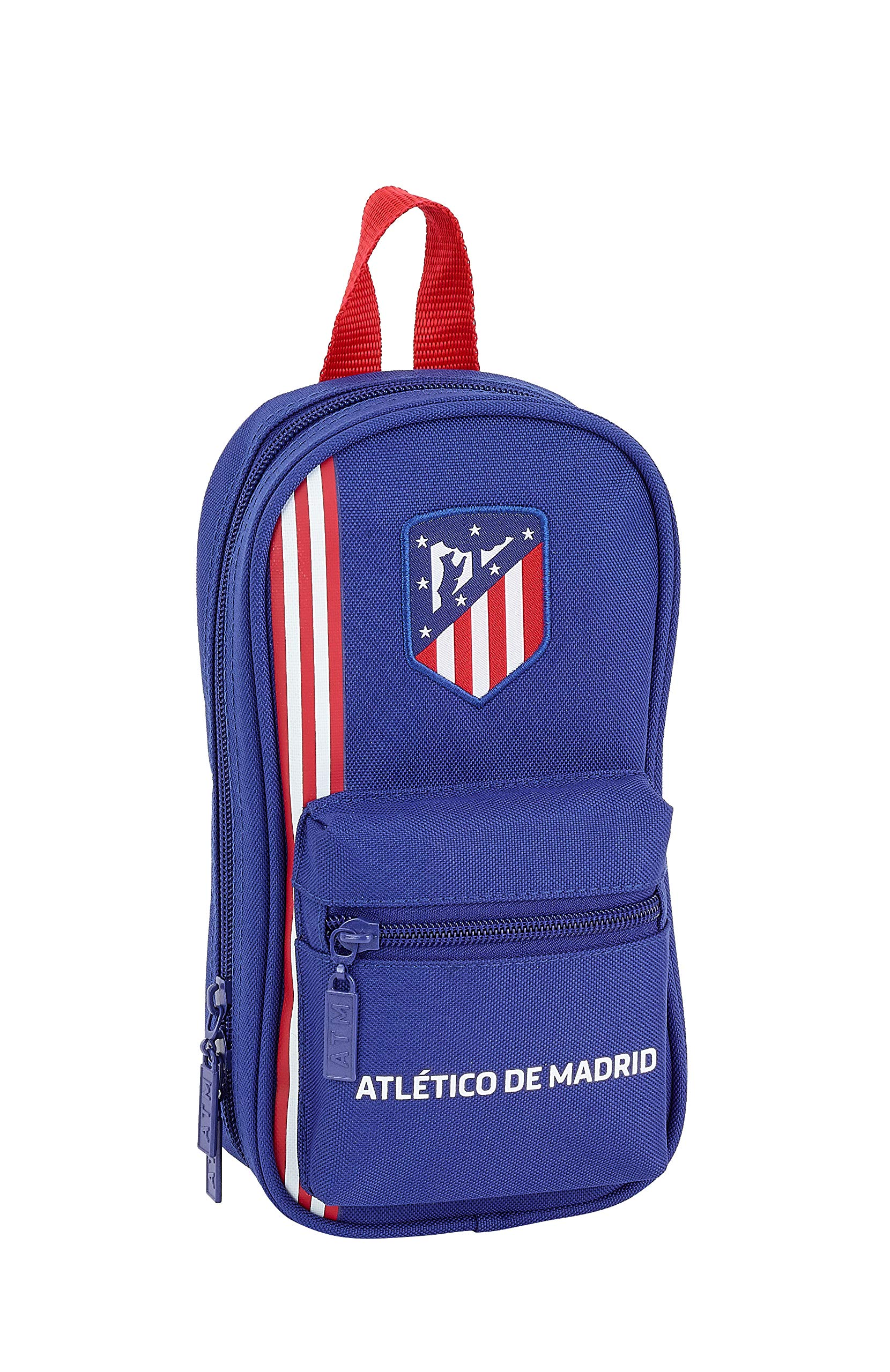 Atlético de Madrid «In Blue» Oficial Neceser Con 4 Estuches 120x50x230mm