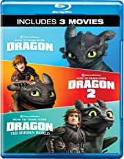 How to Train Your Dragon Trilogy: 3 Movies Collection - Part 1, 2 & 3 (3-Disc Box Set)