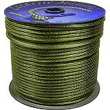 Corderie Italiane 002044499Câble Séchoir à linge acier laiton, transparent, 4mm