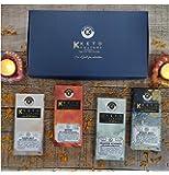 Nepenthe Coffee and Chocolates Keto Culture -Dark Chocolate (Sugar Free) - Diwali Gift, Hazelnut, Pecan, Almond Brazil…