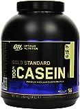 Optimum Nutrition Gold Standard Casein Eiweißpulver (mit Glutamin und Aminosäuren, Protein Shake von ON), Creamy Vanilla Eiweiß, 53 Portionen, 1,82kg