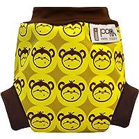 Close Pop-in - Costume-pannolino per neonati, taglia S (dai 3 kg in su), motivo scimmiette