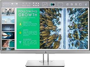 HP EliteDisplay E243 60,45 cm (23,8 Zoll Full HD IPS) Monitor (HDMI, DisplayPort, VGA, USB, Pivotfunktion, 5ms) schwarz