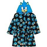Sonic The Hedgehog Bata para niños Disfraz de personaje para niños Bata de baño
