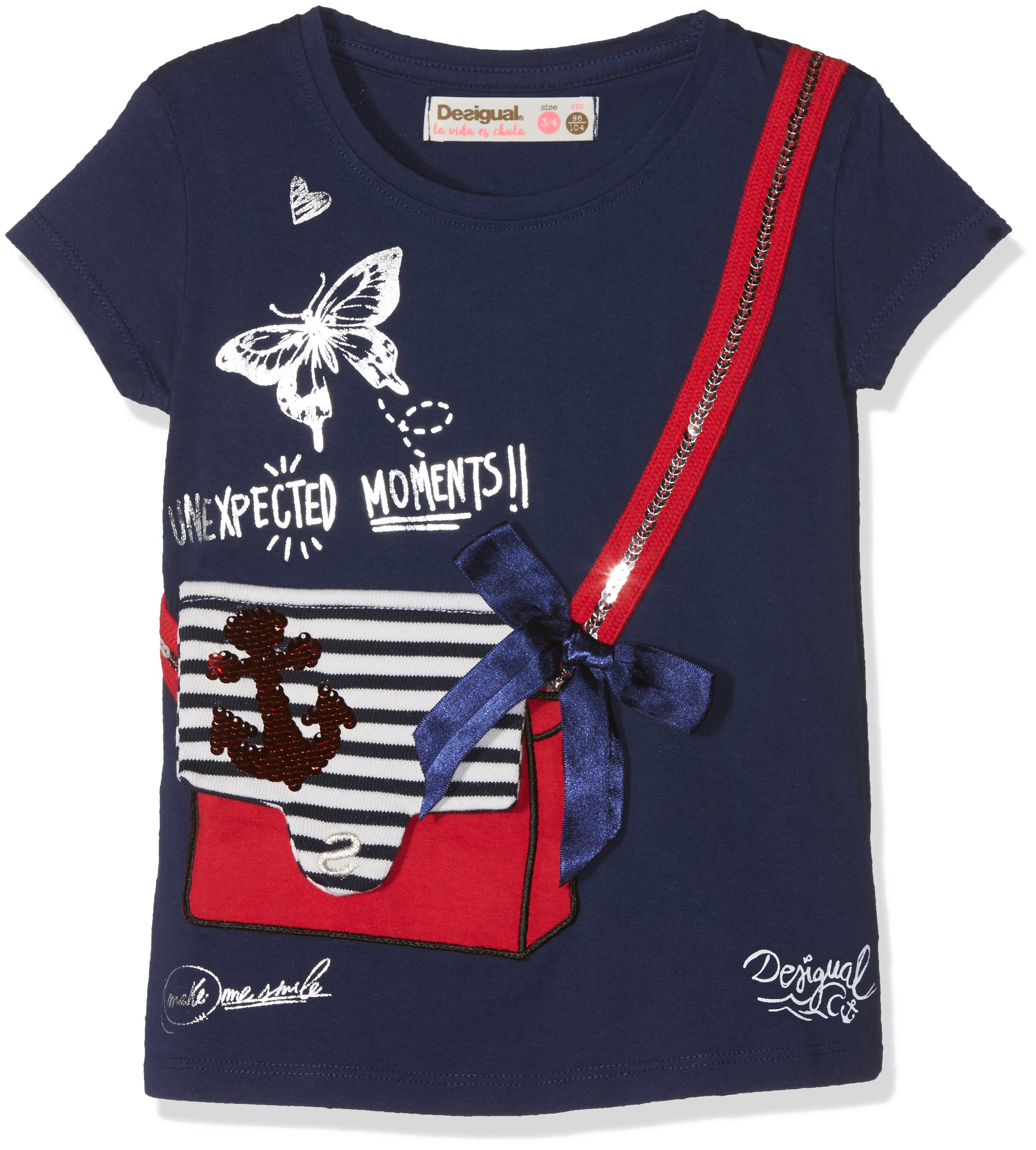 Desigual TS_Earwig Camiseta para Niñas