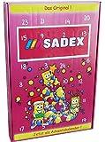 CAPTAIN PLAY | Sadex Adventskalender | Sadex Brause Retro Süßigkeiten ohne Schokolade | 360g