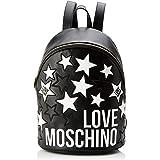 Love Moschino Jc4086pp1a, Borsa a Zainetto Donna, Nero (Nero), 18x38x40 cm (W x H x L)