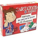 Jeu de 110 cartes : Cartatoto Anglais N2 - Les mots de la nature