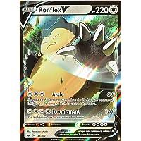 Carte Pokémon 141/202 Ronflex V EB01 - Epée et Bouclier 1 Neuf FR