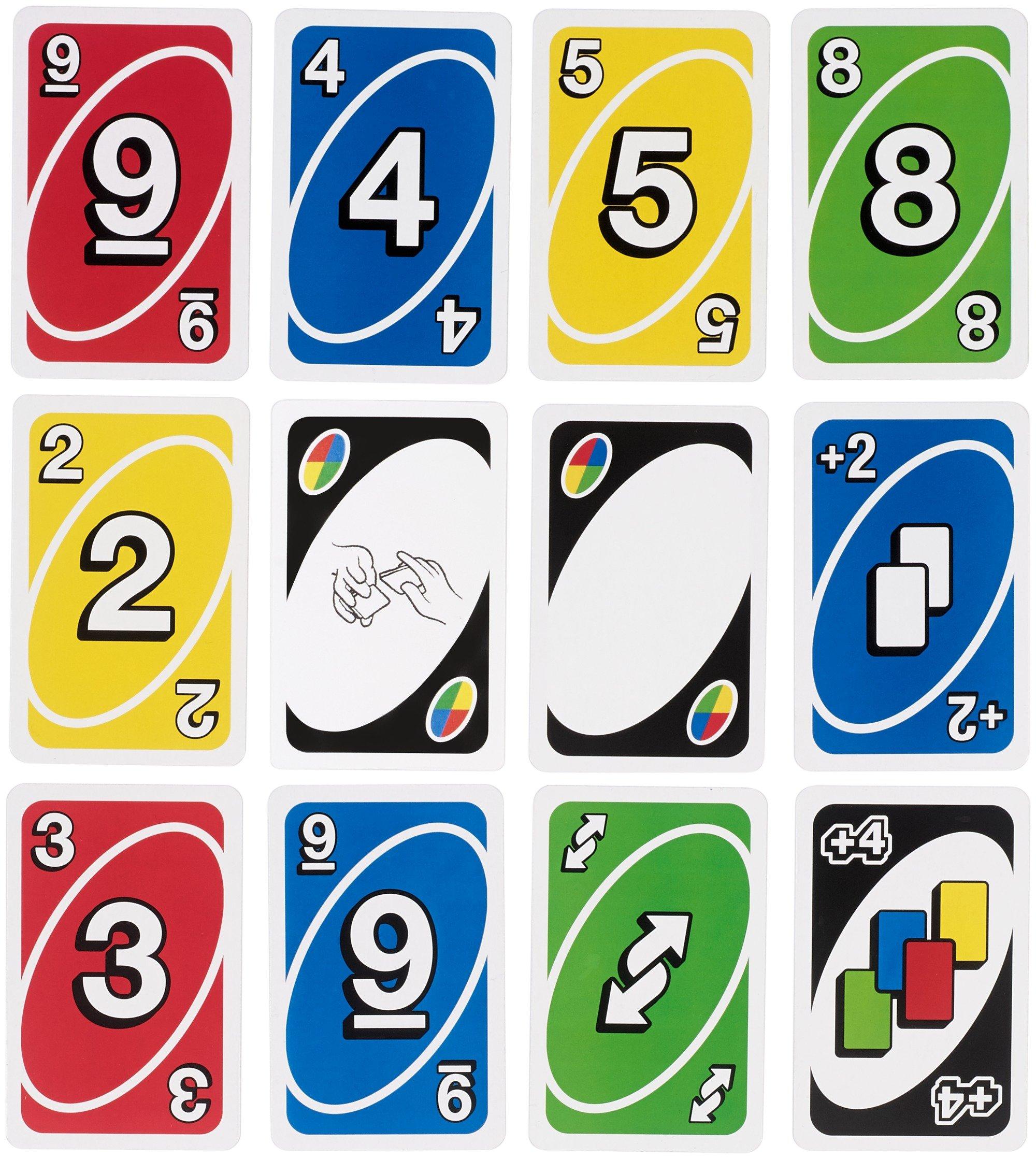 Uno CKB10 - Sfida Gioco di Carte 3 spesavip