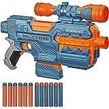NERF Elite 2.0 Phoenix CS-6 Zautomatyzowana wyrzutnia, 12 oryginalnych strzałek NERF, 6-strzałkowy magazynek, celownik, szyny