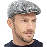 Tom Franks Mens Traditional Flat Cap