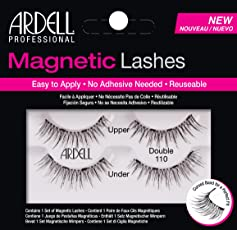 Ardell Professional Magnetic Double Strip Lashes, 110 Black