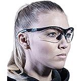 SOLID. lunette de protection travail avec ajustement parfait & protection latérale intégrée   lunettes de sécurité avec verre