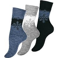 3 Paia Calze Invernali Effetto Termico per Donna
