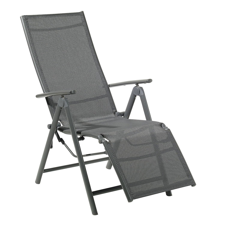 Relaxsessel garten  Amazon.de: greemotion Relax-Gartensessel Faro mit Rückenlehne 9 ...