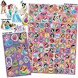 Paper Projects 9124370 Disney Princess Mega Pack d'autocollants Rose/violet