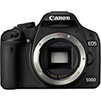 Canon EOS 500D SLR-Digitalkamera (15 MP, LiveView, HD-Video) Gehäuse