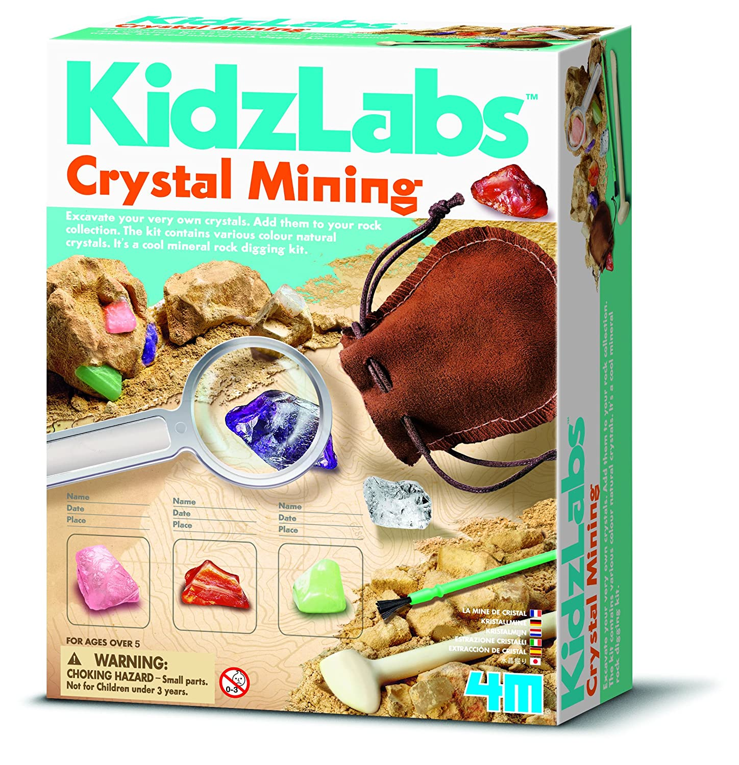 4M Kidz Labs Crystal Science Great Gizmos Amazon Toys & Games
