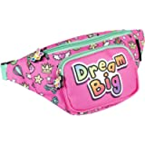 Fringoo - Girls Bum Bag | Suitable for Girls or Teenagers | Waist Bag with Adjustable Belt Strap | Fashion Accessory…