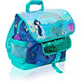 Disney Girls Satchel Backpack | Aladdin Movie Follow Your Own Heart School Satchel Rucksack with Princess Jasmine, Sequins &