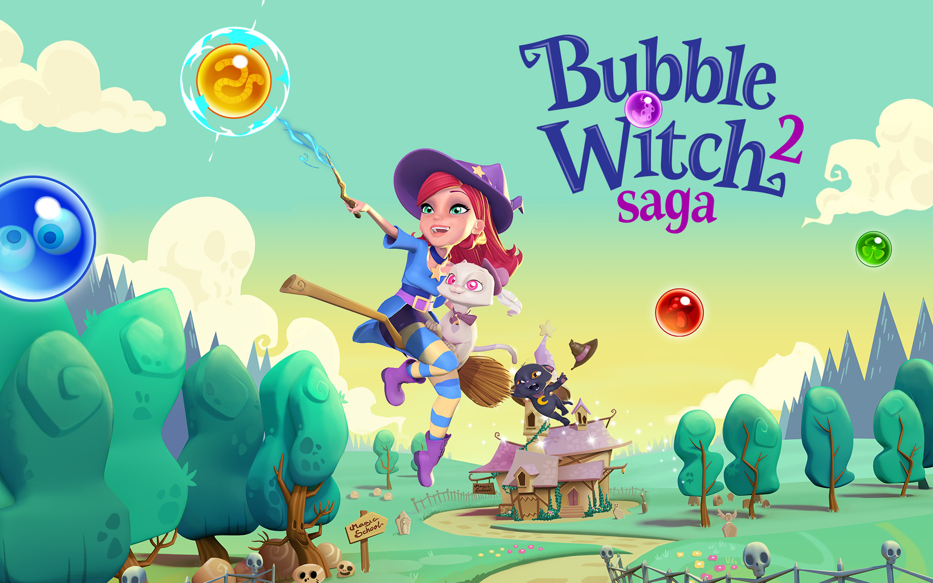 Bubble Witch 2 Saga For PC (Windows 7, 8, 10, XP) Free ...