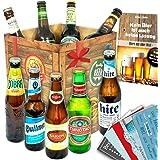 Biere der Welt | Inkl. Bierbuch uvm. | Geschenkidee für Ihn zu Vatertag
