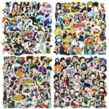 200St. Anime Stickers Naruto-Aufkleber, Hunter x Hunter, DemonSlayer, My Hero Academia(50pcs per Style) Sticker Pack für Lapt