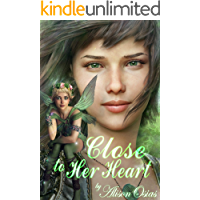 Close to Her Heart: A Lesbian Size Difference Erotica (Her Fairy Companion Book 1)