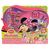 Cardinal Carry and Go Minnie Mouse, Multi Color (3 Pack)