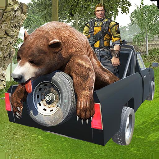 Wild Sniper 4x4 Jagdsafari: Schießspiel 3D