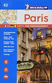 Michelin Paris par Arrondissements