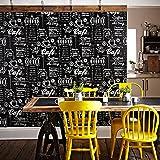 Superfresco Easy Black/White Coffee Shop Wallpaper