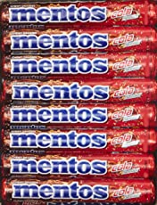 Mentos Chewy Dragee, Cola Flavour, 655.2g (Pack of 18 Sticks)