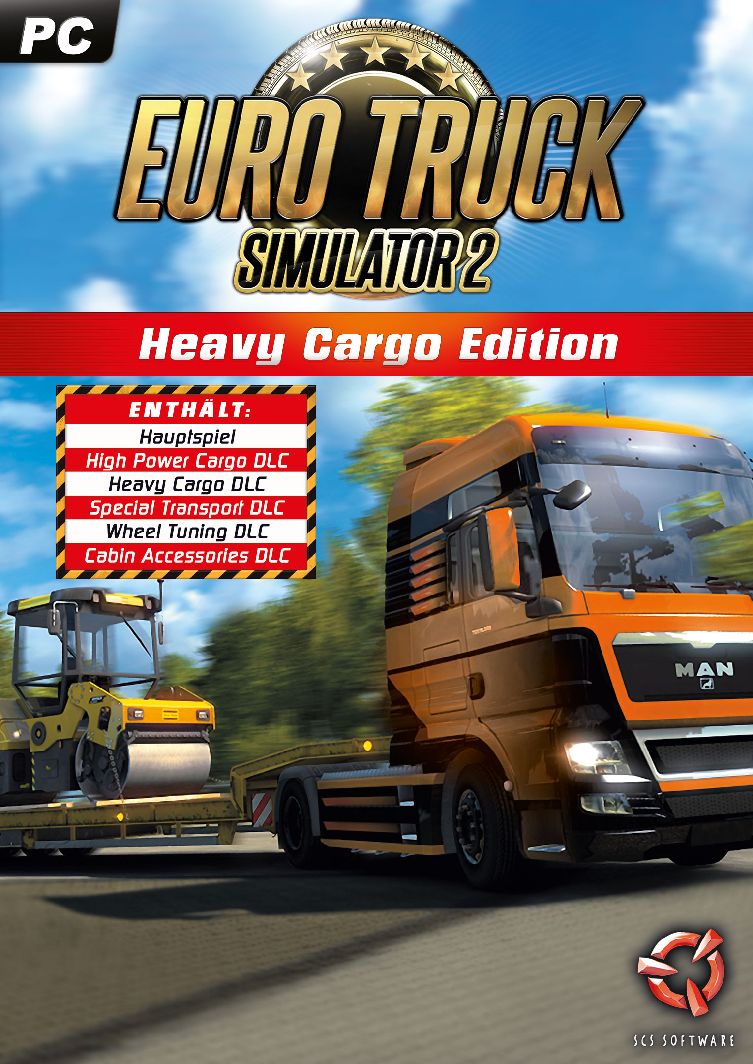 Euro Truck Simulator 2: Heavy Cargo Edition [PC Code - Steam]